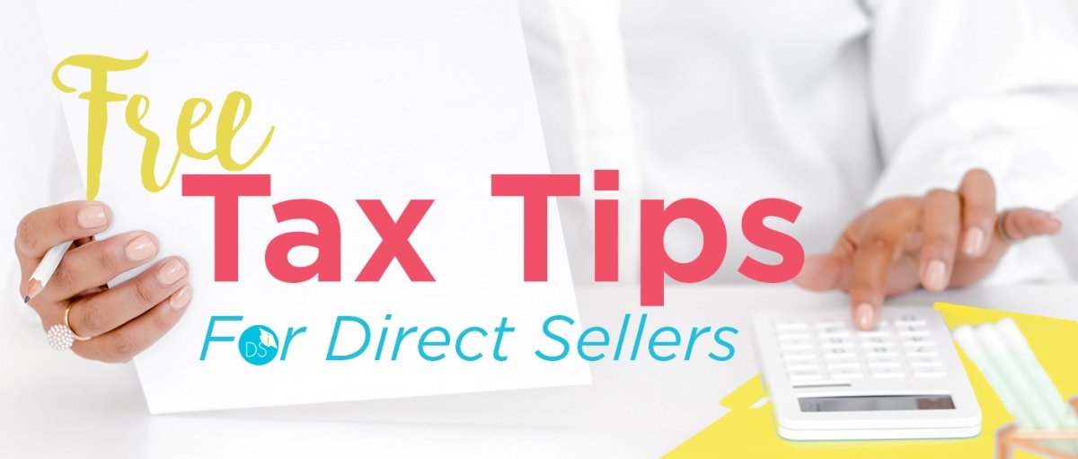 Free Tax Tips for Direct Sellers