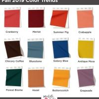 Fall 2019 Pantone Shades